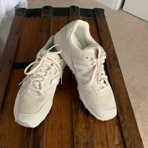 New Balance Off White 696 casual Sneakers sz 9